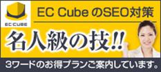EC-CUBEのSEO対策サービスのバナー作成